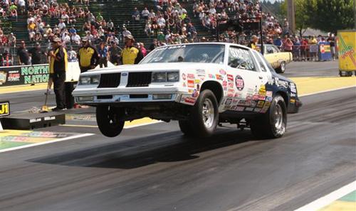 Super Stock winner - Rick McKinney's  -  '84 Cutlass, SS/KA