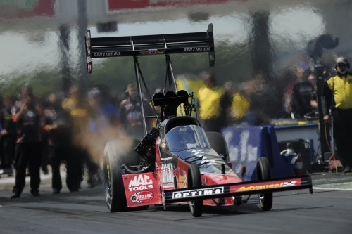 JR Todd was impressive in Top Fuel at Dallas - qualifying #1 with low ET and going to the Championship final.
