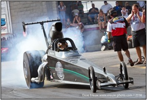 Mike Everitt won for the first time in Top Dragster