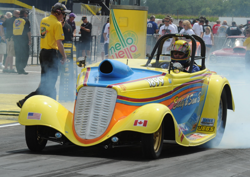 Eddy Bryck - from the Eastern part of the GTA had a nice event effort in Super Gas - winning two rounds.