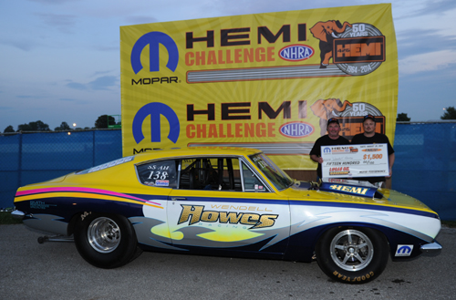 New Brunswick's Howes Racing had a superb runner-up finish in the 14th annual Mopar Hemi Challenge for SS/AH class cars