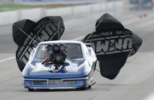 Mark Martino made his much anticipated debut in Pro Mod - but his best effort in the Al Billes owned Corvette was short of the 16-car field.