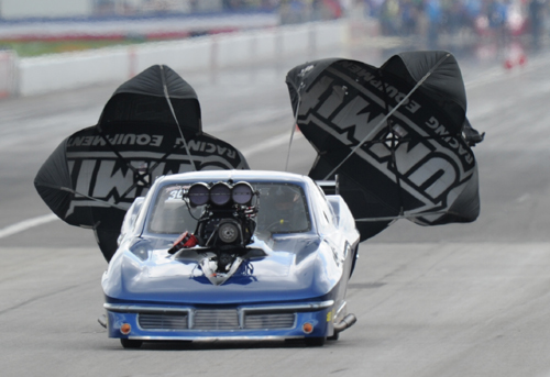 The Pro Mod event featured record attendance  - including a first time appearance by Canadian ex Pro Stock racer - Mark Martino