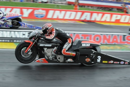 Pro Stock Motorcycle winner - Eddie Krawiec