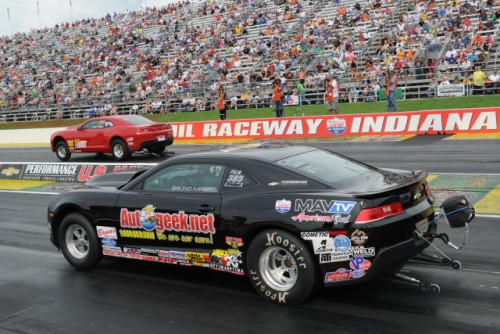 Bruno Massel made history  when he gave the COPO Camaro it's first NHRA national event win.