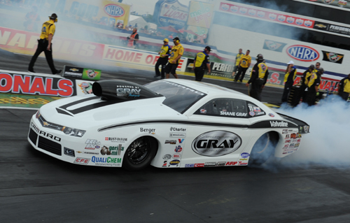 Shane Gray's victory in Pro Stock was very convincing