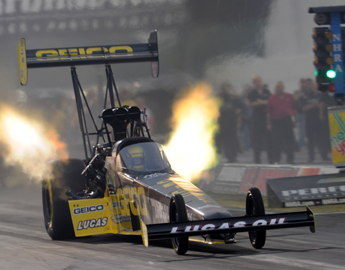 Richie Crampton made his home country of Australia very proud - with an enormous win in Top Fuel