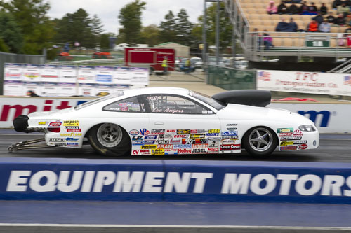 Luc Angers from Laval Que was the highest qualifying Canadian in the Top Sportsman class with his 2006 GTO. He qualified 2nd.