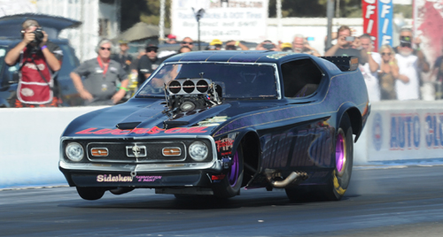 Alberta's Jordan Pawlick continued to impress in his rookie season in Nitro Funny Car- qualifying 12th and going to round two on Sunday.