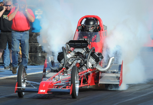Relative A/FD class newcomer Mike Pawluk (Delta BC) qualified #10 with a 6.639 secs.