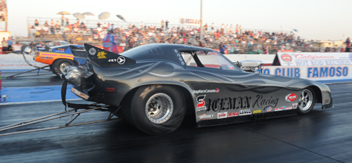 Canadian class powerhouse Tim Nemeth was the quickest Canadian qualifier with at 5.865 secs (9th) but lost in round one.