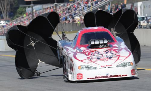 Australian John Canulli will wheel the potent Kon Rodz Racing TAFC at upcoming events in Las Vegas and Pomona