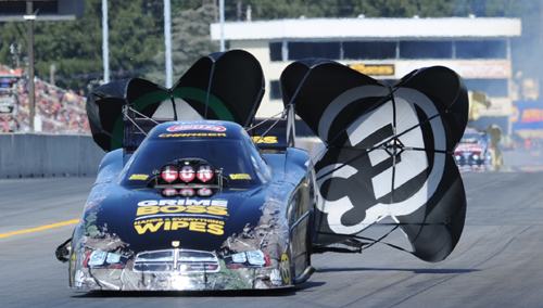 """Toronto-native Jeff Arend enjoyed his best NHRA event of the '14 season with superb """"final four"""" finish in Fuel FC."""