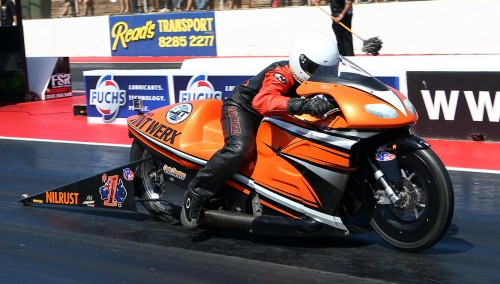 With his win Luke Crowley virtually assured back-to-back ANDRA titles in Pro Stock Motorcycle