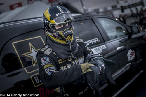 Tony Schumacher - who had already clinched the TF title - went to the final round