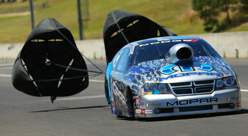 Lee Bektash set a new speed record while winning in Pro Stock