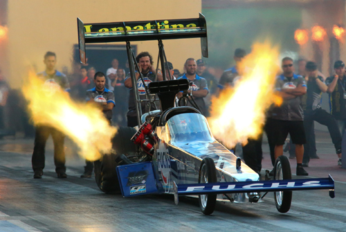 Phil Lamattina claimed the 2014 ANDRA Top Fuel Championship