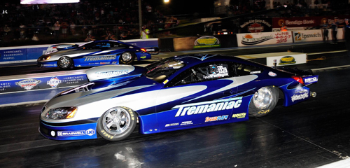 Aaron Tremayne clinched the 2014 Pro Stock Title