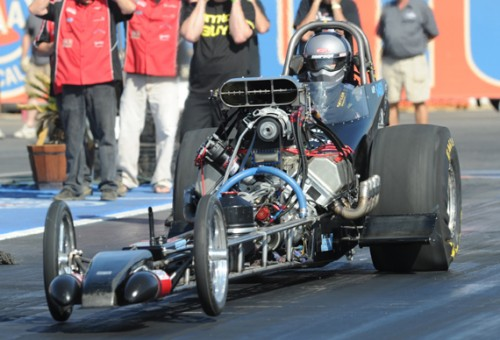 The Davenport driven dragster is ripe with ongoing innovation
