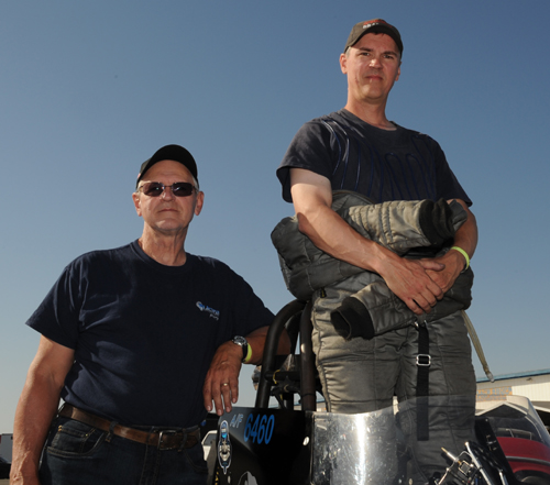 The father and son combination of Les and Ryan Davenport collected the 2014 Championship title for NHRA Hot Rod Heritage A/Fuel class category.