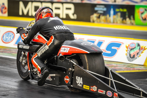 Andrew Hines is on the verge of another PSM World Championship