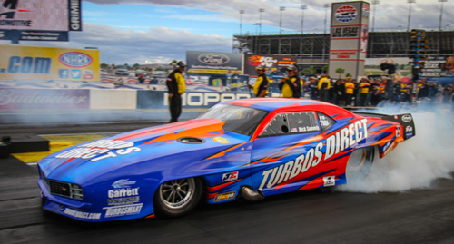 Robert Snavely set top speed of the meet at 253.14 mph driving his turbocharged Camaro