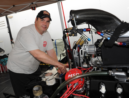 Tom Reithmayer uses a rarely seen Ford motor program within his Pro Mod racing effort