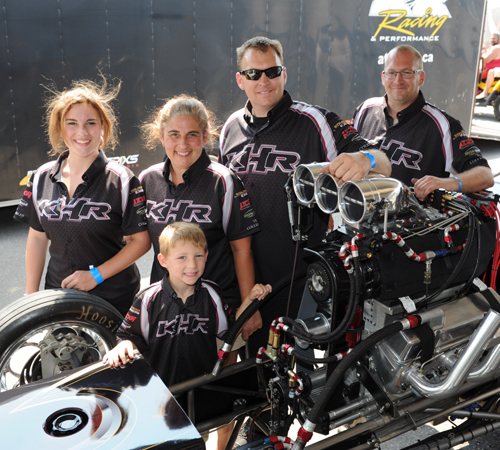 KHR Racing is close knit and family orientated race team