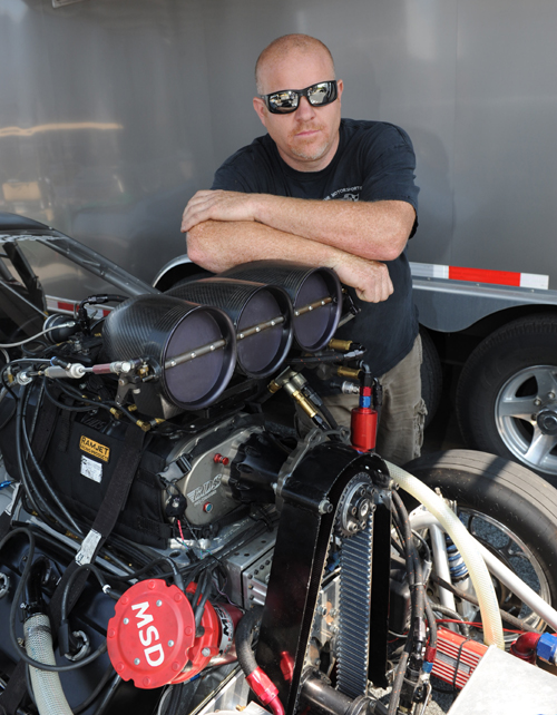 "Al Martorino is carrying the torch for ""Blue Oval"" Pro Mod fans in Eastern Canada"