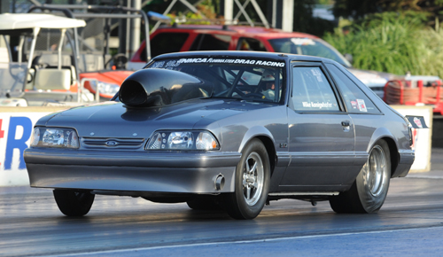 Mike Konigshofer's reconfigured Mustang is targeting the high 7-seconds zone in NMCA for 2015