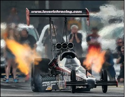 The Leverich Racing Top Fuel dragster