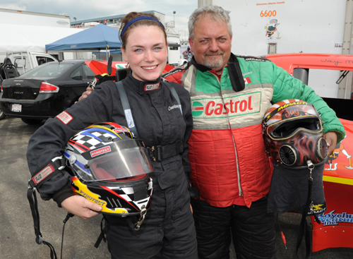 Courtney & Jay Mageau will both drive Funny Cars this summer