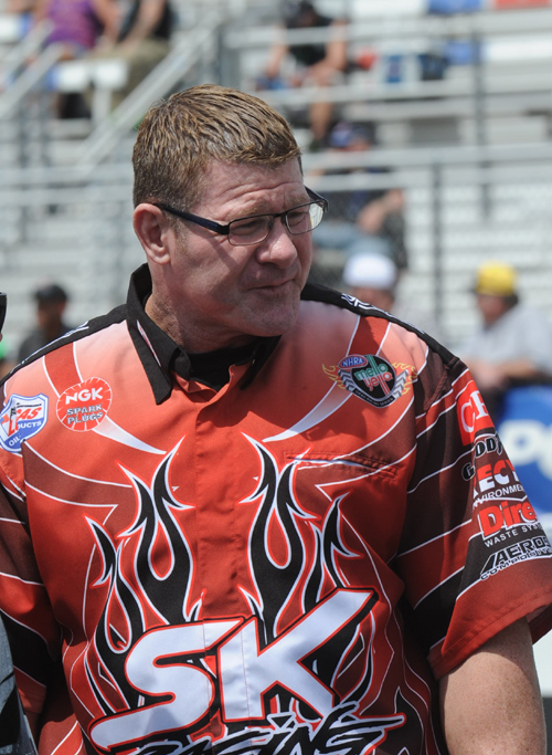 Reputed Crew Chief Randy Anderson will remain a key component of SK Racing going forward
