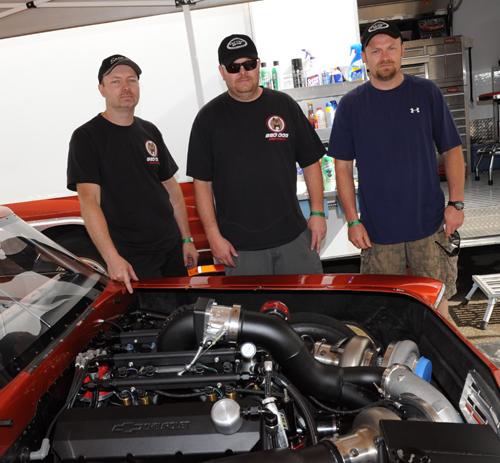 Darryl, Kerry & Dan Stone