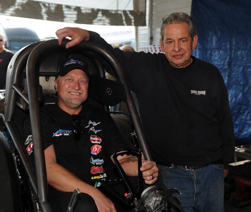 Jeff Arend & car owner Steve Pleuger