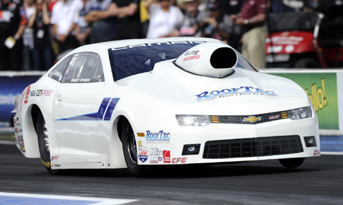 Roger Brogdon won in Pro Stock for the 3rd time in his  racing career