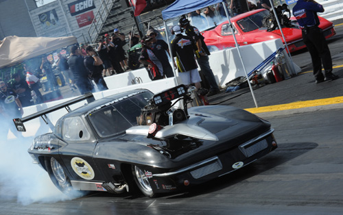 Guist ran this '63 Chevy Corvette very successfully within the PMRA tour from 2012-2014