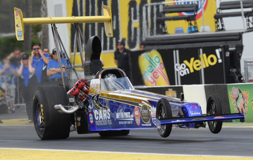 Lady racer Mia Tedesco earned her first NHRA national event win in TAD!