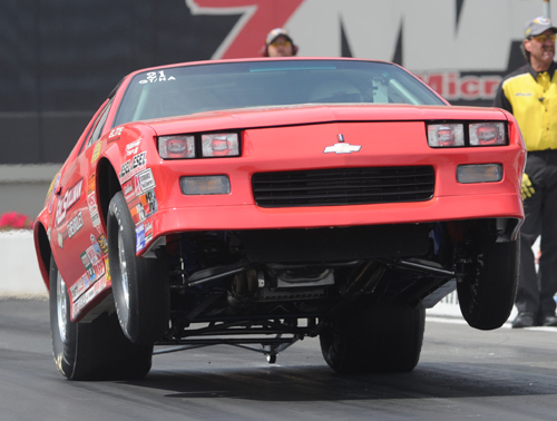 Prolific Lucas Oil Sportsman driver David Rampy collected his 88th NHRA national event win.