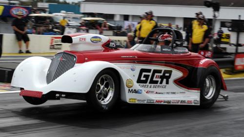 Joe Santangelo won in Comp driving for team owner Arnie Martel