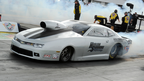 Chris McGaha was the quickest Pro Stock car after qualifying.