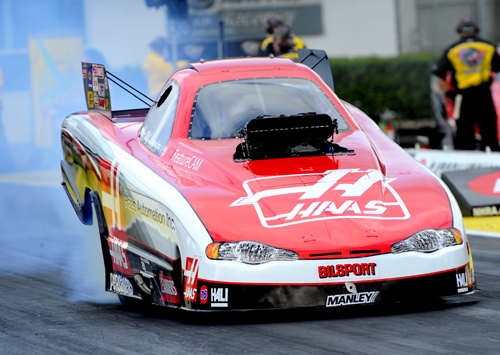 Sweden's Ulf Leanders ran the fastest TAFC speed ever while winning his first NHRA race.