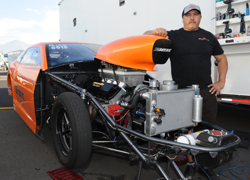 Dale Giroux is emerging as a bonafide major threat within NHRA Competition eliminator racing