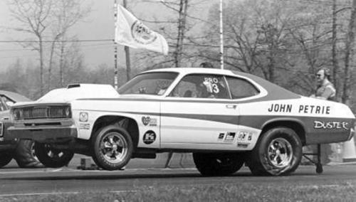 John Petrie Car 72DusterLandofNed