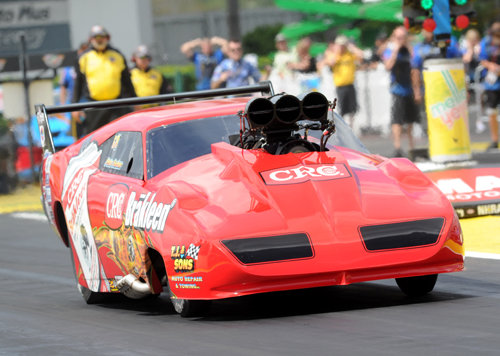 Pete Farber was runner-up driving his fan favourite Dodge Daytona