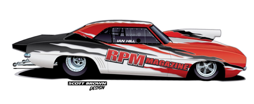 Race Fans will be able to see the official unveil of Hill Racings new car at the Motorama Custom Car and Motorsports Expo March 13-15 at the International Centre in Toronto Ont.