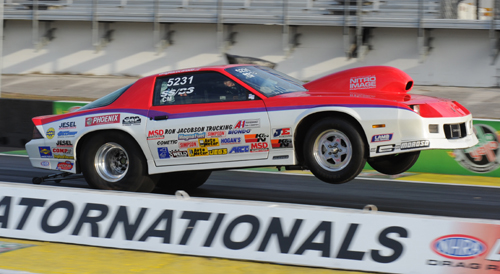 Regina's Grant Singer recently had his best finish ever in NHRA national event competition