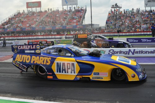 The fuel FC final at Houston was all DSR Racing - with Capps defeating Beckman