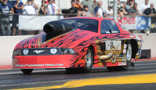 Billy Glidden (son to legendary Bob Glidden) placed R/UP with his nitrous-injected Mustang