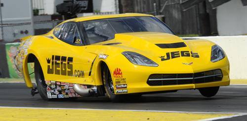 For the 2nd straight NHRA race - Troy Coughlin set top speed of the meet in Pro Mod with his new C7